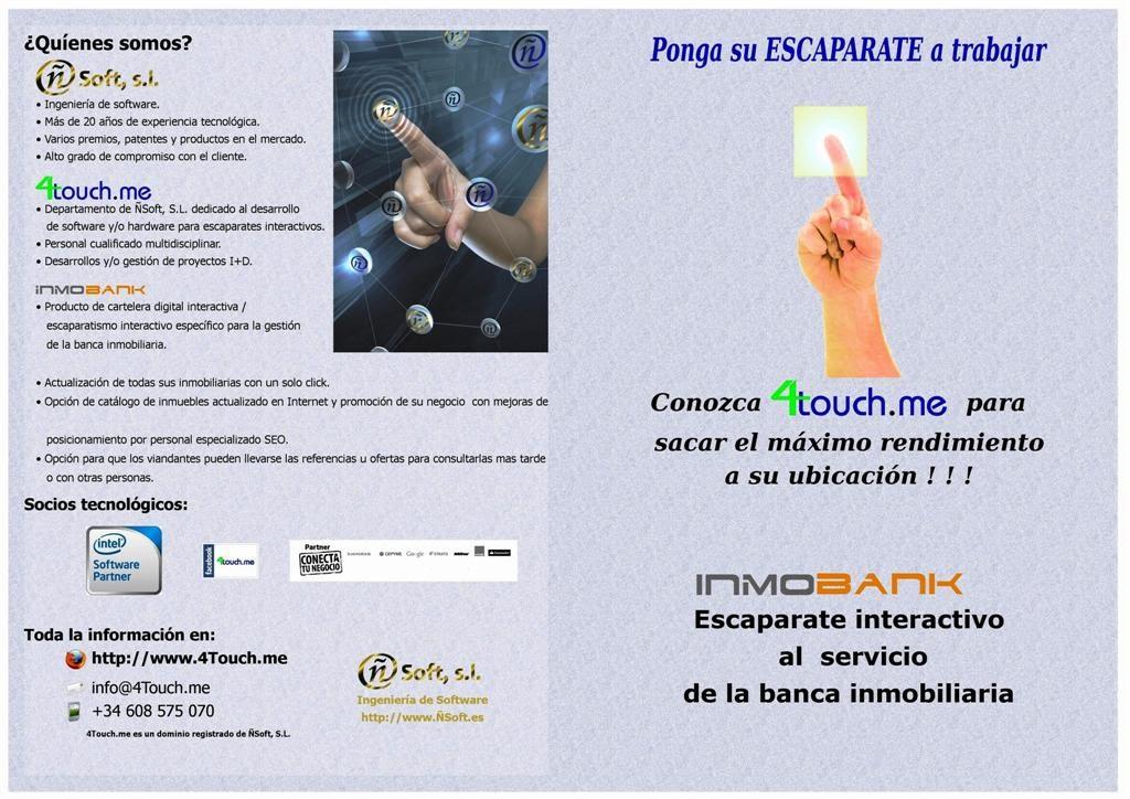 InmoBank Diptico
